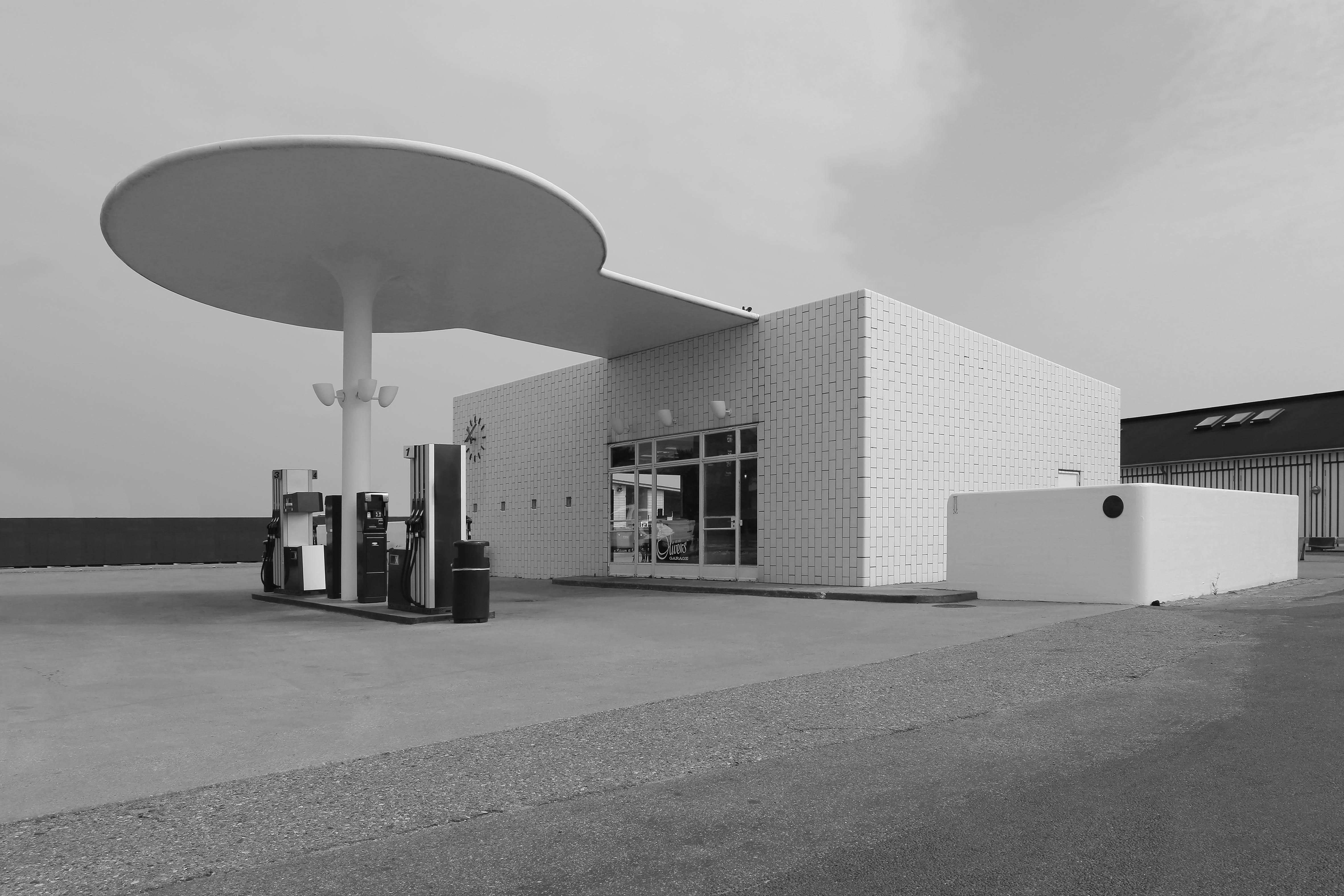 Marokko, Dänemark, Kopenhagen, Tankstelle Skovshoved, Arne Jacobsen, 1936
