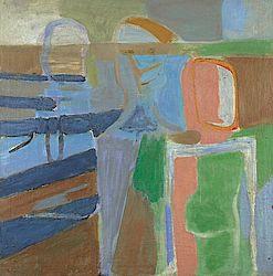 Karl Ballmer (1891-1958) o.T. (Drei Figuren), 1933/34 Öl auf Leinwand Privatbesitz ©Karl Ballmer-Stiftung Aarau