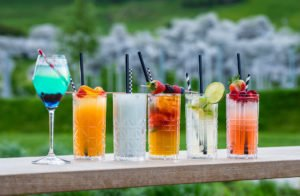 Ein Mix von Sommer-Cocktails Kristallwolke, Footo: © Springer - Target Group